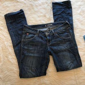 Hudson straight leg jean size 26